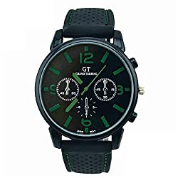 watches for men - 2018 Brand Men's Analog Clock Fashion Casual Sports - C