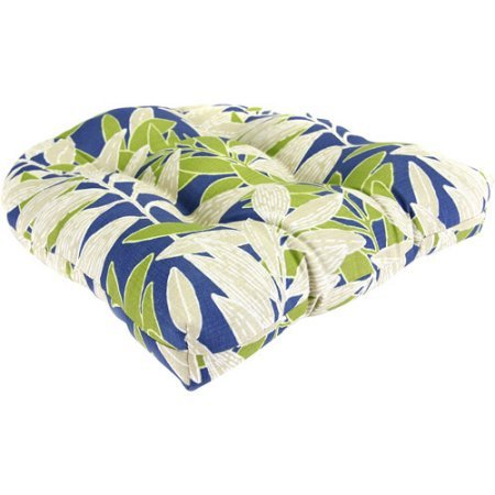 Tufted Wicker Outdoor Seat Cushion, Manzi Kiwi price