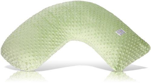 Luna Lullaby Bosom Baby Nursing Pillow, Sage Dot - Dots Body Pillows