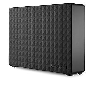 Seagate 3年保証 3TB TV 録画 外付 HDD 4K テレビ PS4 対応 静音 ハードディスク 3.5 インチ シーゲイト