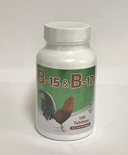 B-12 and B-15 for Roosters - 100 Tablets