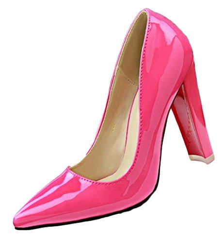Vestito 66 Tallone Rosa Campagna Rossa Donne Di Delle No Di Dall'alto Pompe 5t1qwz