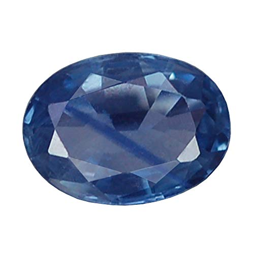 - Ploythai 1.00CT Ravishing VVS Oval Heated ONLY Blue Sapphire Natural