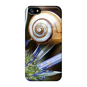 New Cute Funny Snail On Plant Cases Covers/ Iphone 5/5s Cases Covers