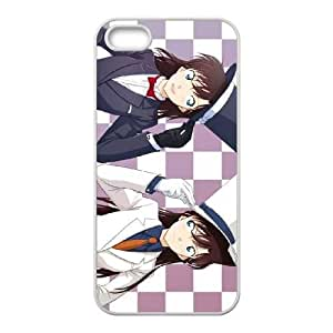 Detective Conan 028 iPhone 4 4s Cell Phone Case White custom made pgy007-9969028