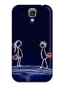 Case Cover Love Art Galaxy S4 Protective Case
