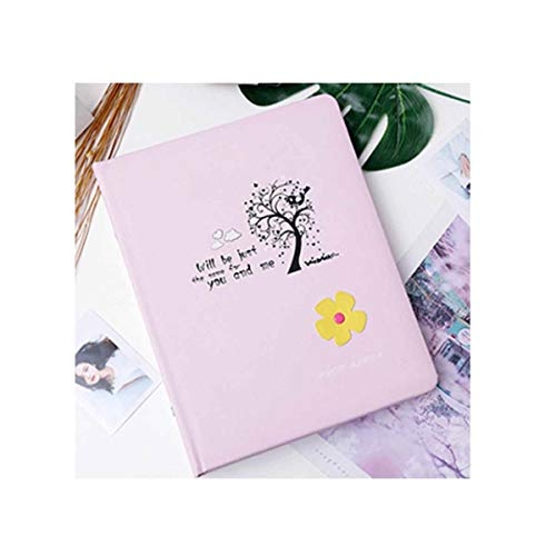Album Pink Traditional - Hongyushanghang Photo Album, Traditional Photo Album, Interstitial Family Children's Leather Album, Pink Perfect (Edition : A)