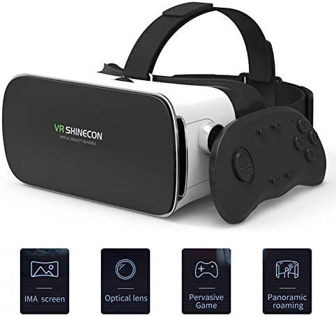 IPhone と Android スマートフォン用のゲームや映画アイケアシステムのためのリモートコントローラ3d メガネバーチャルリアリティヘッドセットと VR ヘッドセット