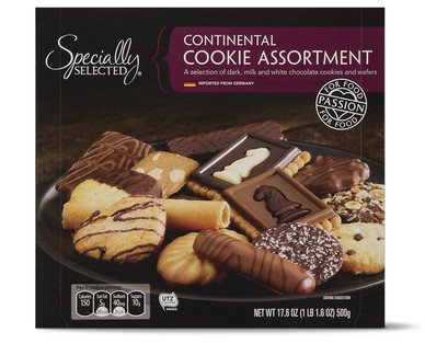 Specially Selected Imported German Continental Cookie Assortment 14 Varieties (