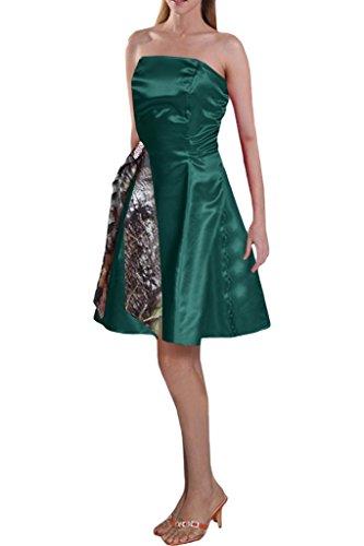 TOSKANA BRAUT - Vestido - trapecio - para mujer verde oscuro