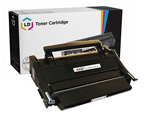 (LD Remanufactured Toner Cartridge Replacement for Lexmark 4K00199 High Yield (Black))