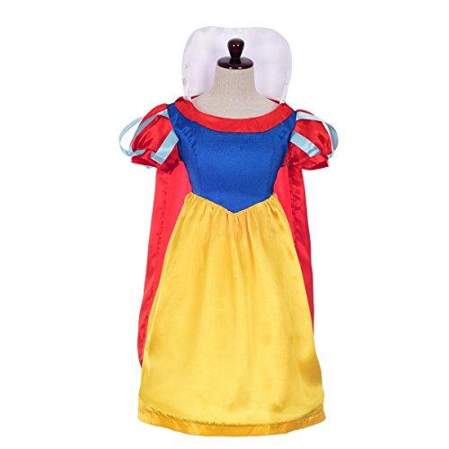 Dressy Daisy Girls' Snow White Princess Cartoon Character Fancy Dress Up Costume Size 5