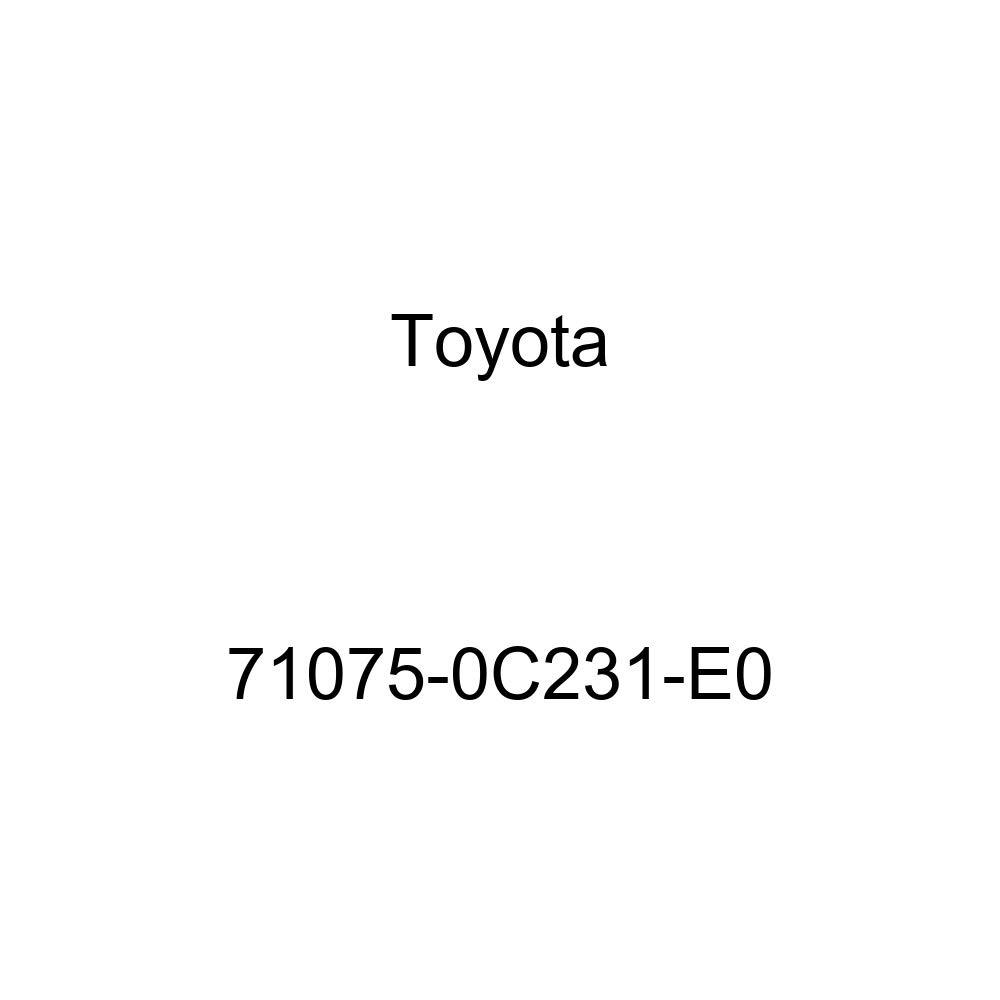 TOYOTA Genuine 71075-0C231-E0 Seat Cushion Cover