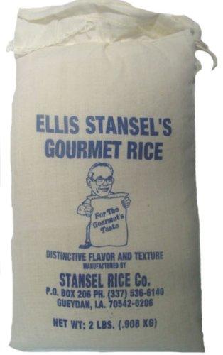 Ellis Stansel's Gourmet / Popcorn Rice - 2 lb Cloth Bag