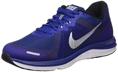 Nike Negro X Mtllc 2 Fusion Ryl Slvr Dp Zapatillas rflct blk Running Dual Hombre Azul de Plateado Bl qqwrvRnE