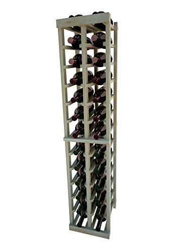 Vintner Series Wine Rack - 2 Column - 4 Ft - Pine Unstained
