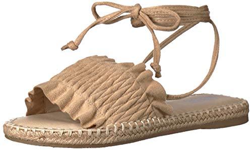 MIA Women's Annalise Flat Sandal, Natural, 8.5 M US