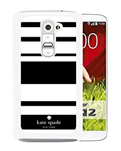 Unique Designed Kate Spade Cover Case For LG G2 White Phone Case 3