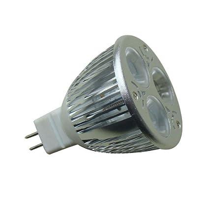 Ledbox LD1031506 - Bombilla LED, MR16, 9 W, para sustituir halógenos, dicróica