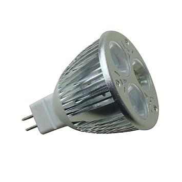 Bombilla Led MR16 9w para sustituir halógenos, dicroica. Lámpara LED GX5,3 9W, blanco cálido: Amazon.es: Electrónica