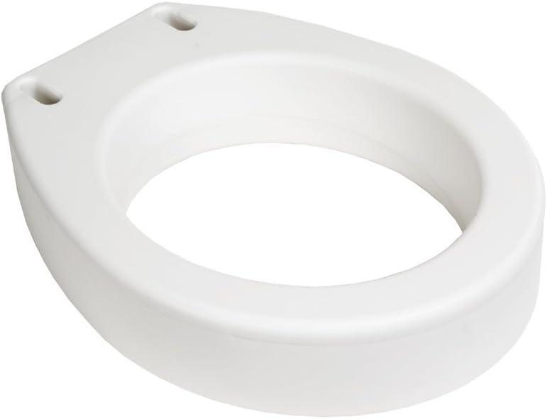 Essential Medical Supply Toilet Seat Riser, Standard, 17.25 x 13.5 x 3.5 Inch