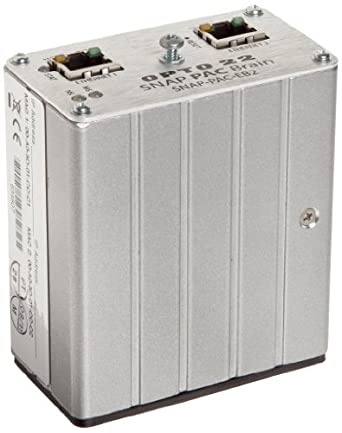 Opto 22 SNAP-PAC-EB2 - SNAP PAC Ethernet Brain, Analog/Digital/Serial, 16 MB RAM
