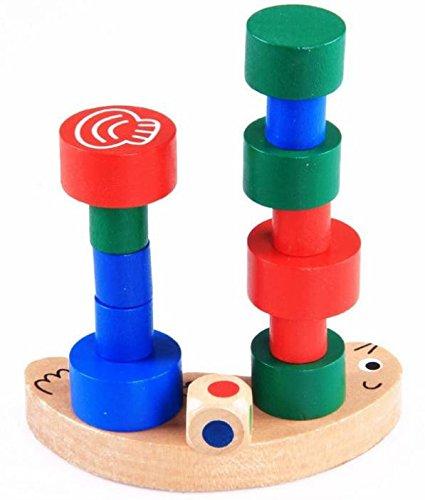 Snail Balance Blocks Parent-child Children Wooden Toys (Snail Jigsaw)
