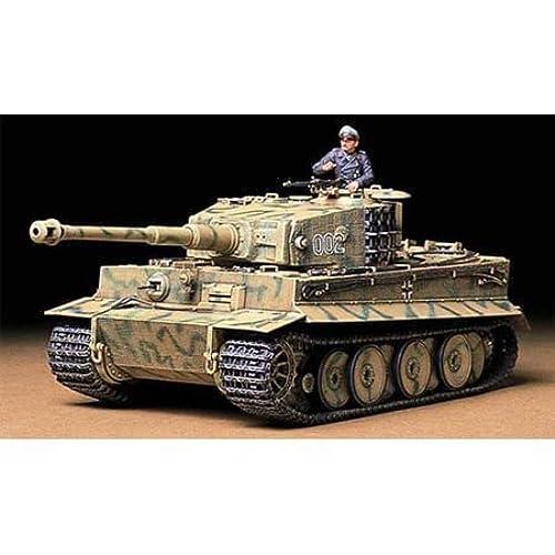 タミヤ 1/35 ドイツ重戦車 タイガーI型 中期生産型