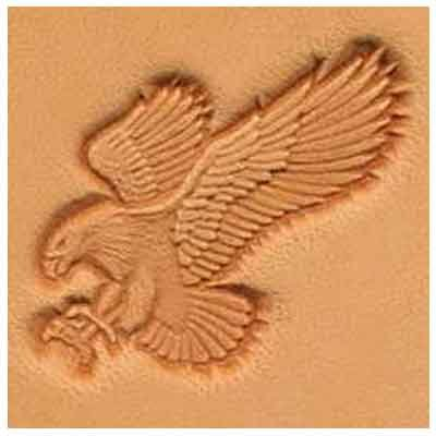 - Springfield Leather Company Attack Eagle 3D Leather Stamp (Left Facing)