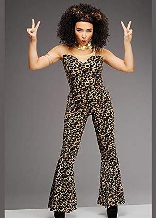 Magic Box Disfraz de Leopardo Estilo Mujer Especia asustadiza de ...