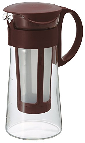HARIO Cold Brew Ice Coffee Glass Pot 600ml MCPN-7CBR Brown Made in JAPAN