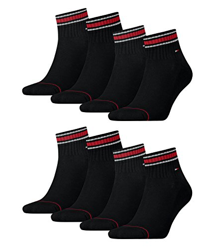 Iconic De Black Tommy lot Hilfiger 2p 2 Chaussettes Sports Men Ringel Homme roter Th Quarter tBFwBAq