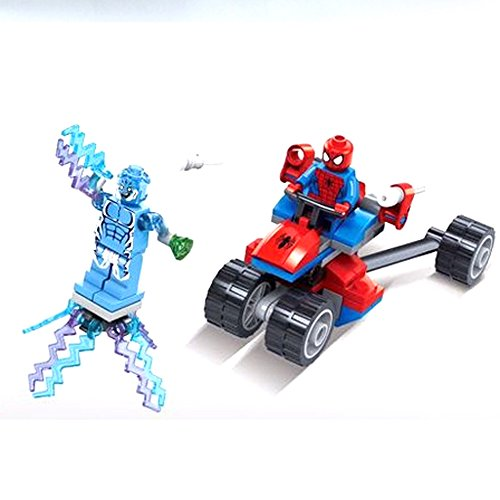 4pcs/lot Super Hero with Locomotivemini Figure Moive Kid Baby Toy Building Blocks Sets No Orignial Box,new in Sealed Bag.