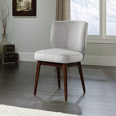 Sauder 420267 New Grange Roxy Accent Chair, L: 21.65'' x W: 23.62'' x H: 35.04'', Cadet Gray finish by Sauder