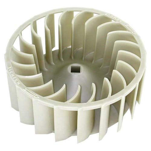 (697772, 697772-4, AP2912089, 687613, AH384381, EA384381, PS384381 FACTORY ORIGINAL DRYER BLOWER WHEEL FOR WHIRLPOOL BRANDS, KENMORE, MAYTAG, KITCHENAI)