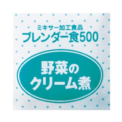 ブレンダー食500 ブレンダー食500 YC B07DG2PYV3 野菜のクリーム煮(6袋X3箱)ケース YC B07DG2PYV3, ハンダチョウ:9019abef --- ijpba.info