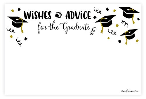 Graduation Wishes and Advice Cards (50 -