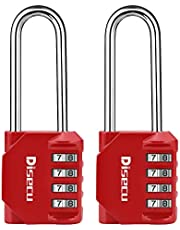 Long Shackle Combination Padlock