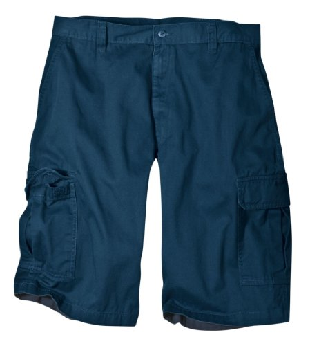 Dickies Men's Big 13 Inch Loose Fit Cargo Short, Dark Navy, 46 ()