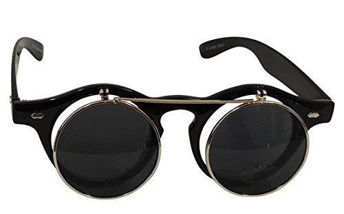 cc284ee80ad421 New Ladies 1920s 1930s 1940s Flip Front Vintage Style Sunglasses UV400.  Viva-la-Rosa