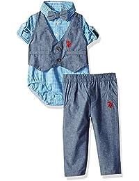 Baby Boys Bodysuit Pant Set
