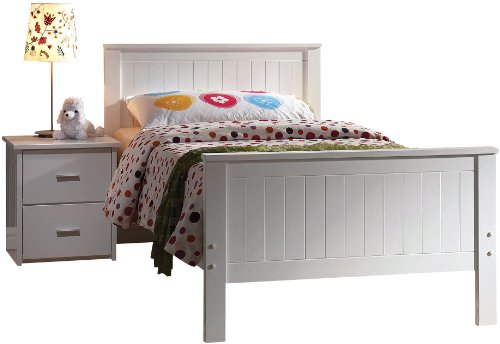 ACME 30025T Bungalow Bed, Twin, (Mission Style Twin Footboard)