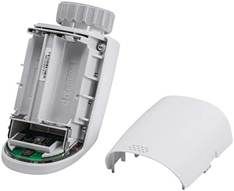 Eqiva 5er Set Elektronik-Heizk/örperthermostat Model N mit Boost-Funktion und leisem Kompaktgetriebe