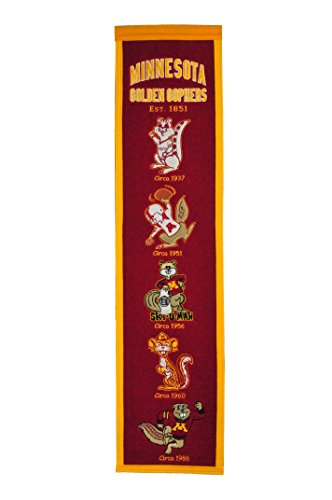 NCAA Minnesota Golden Gophers Heritage - Wool Gophers Minnesota Golden