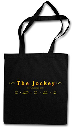 Hipster THE THE JOCKEY JOCKEY II Shopping Reusable Cotton Bag Shopper F6FHUq7Yr