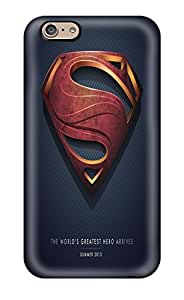 For Iphone 6 Tpu Phone Case Cover(superman)