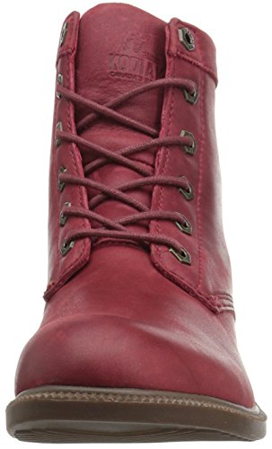 Boot Women's Leather Red Waterproof Ankle Winter Original Kodiak PwqBRp