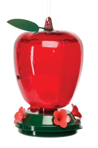 Audubon  Plastic Apple Hummingbird Feeder,  40 oz.   Model 5566