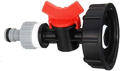 """KEHUITONG NEW 3/4"""" スレッドIBC水タンク出口コネクタホース継手接続ガーデンタッププラスチックアダプタクイックコネクター"""