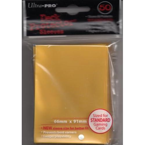 Ultra Pro - Ultra Pro 50 pochettes Deck Protector Solid Jaune